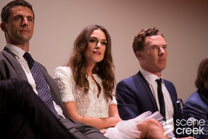 Benedict and Keira at TIFF 2014