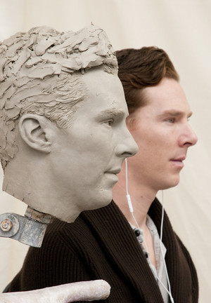 Benedict's Wax Statue