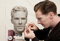 Benedict's Wax Statue - benedict-cumberbatch photo