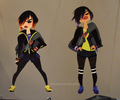 Big Hero 6 Concept Art - GoGo Tomago