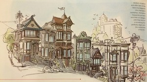Big Hero 6 Concept Art in d23 magazine