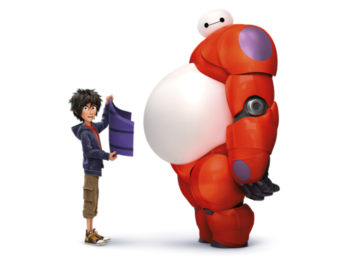 Big Hero 6 wallpaper with a meteorological balloon entitled Big Hero 6 - Hiro and Baymax