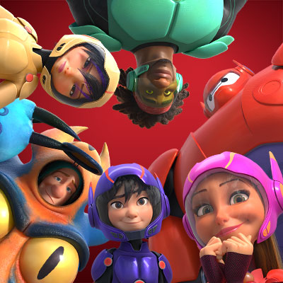 Big Hero 6 Huddle :)