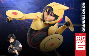 Big Hero 6 Official वॉलपेपर्स