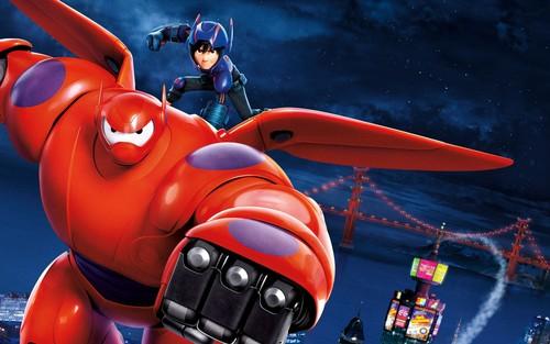Big Hero 6 Hintergrund titled Big Hero 6 Hintergrund