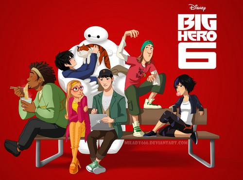 Big Hero 6 Hintergrund titled Big Hero 6