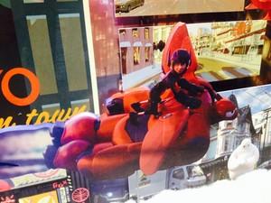 Big Hero 6 concept art - Disney's Animation Academy at Hollywood Studios