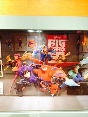 Big Hero 6 concept art - Disney's Animation Academy at Hollywood Studios