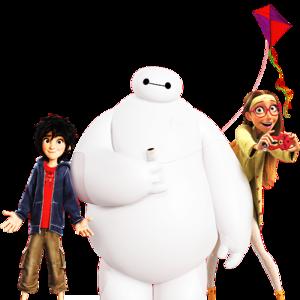 Big Hero 6 (transparent) promo image