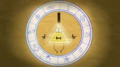 Bill Cipher Wheel in Color