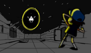 Bill Cipher in Dipper's Dream