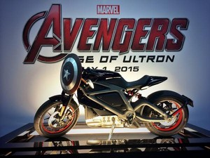 Black Widow's Motorcycle at SDCC 2014