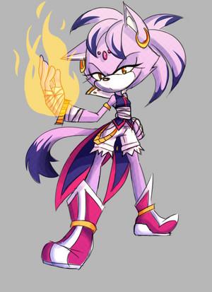 Blaze the Cat (Boom) (Fanmade)
