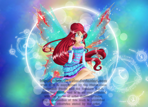Winx Club fond d'écran entitled Bloom Mythix