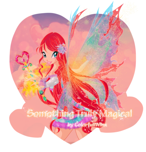 El Club Winx fondo de pantalla entitled Bloom Mythix