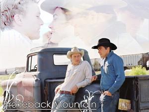 Brokeback Mountain দেওয়ালপত্র