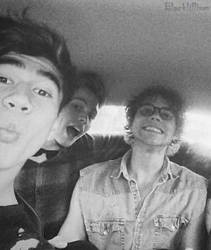Calum, Ashton and Luke