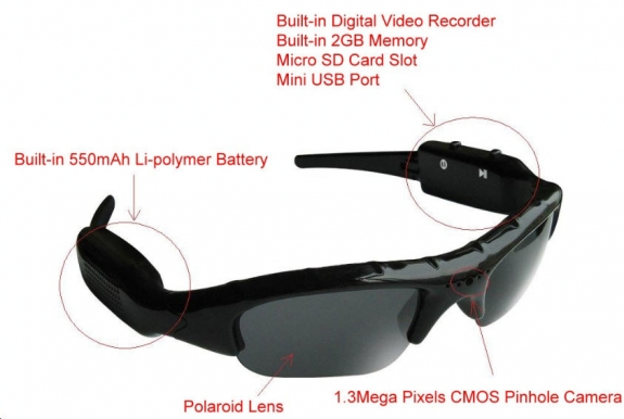 Camera and Video Glasses