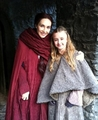 Carice van Houten and Kerry Ingram - game-of-thrones photo