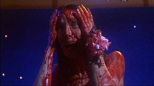 Horrorfilme Hintergrund with a konzert entitled Carrie 1976