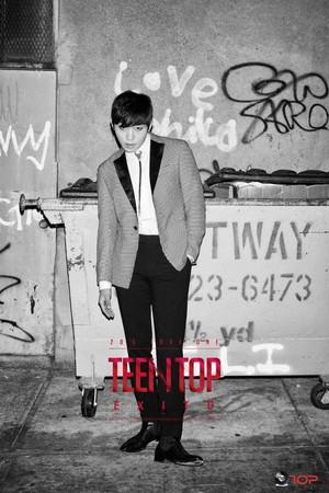 Changjo's teaser picha for 'EXITO' comeback!