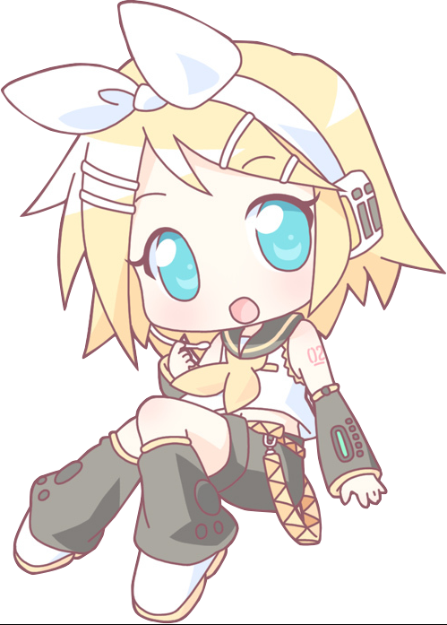 Vocaloid GIRLS!! images Chibi Rin Kawaii!! :3 wallpaper ...