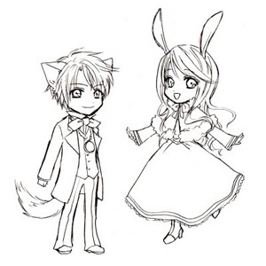 Chibi and kawaii