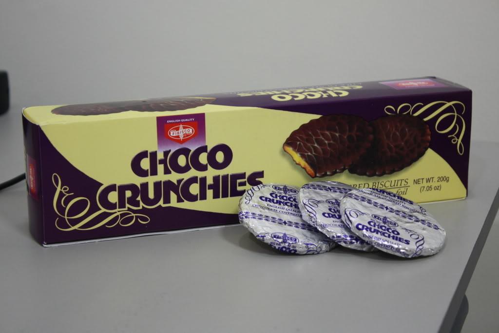 Choco Crunchies.