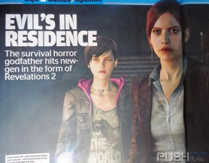 Claire Redfield and Moira 버튼, burton in Resident Evil: Revelations 2