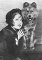 Clara Bow had several red chows to match her hair
