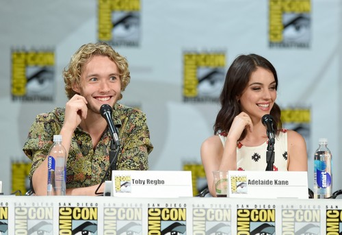 Toby Regbo wallpaper possibly containing a portrait called Comic-Con - July 23rd