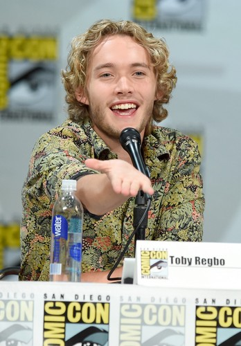 Toby Regbo wallpaper containing a green berretto, beret called Comic-Con - July 23rd
