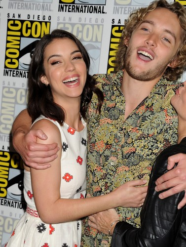 Toby Regbo वॉलपेपर entitled Comic-Con - July 23rd