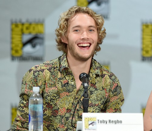 Toby Regbo wallpaper entitled Comic-Con - July 23rd