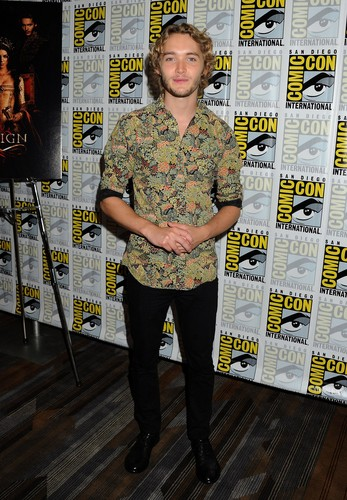 Toby Regbo wallpaper probably with a sign entitled Comic-Con - July 23rd