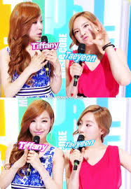 Cute Tiffany and Taeyeon