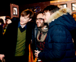 Daniel Radcliffe and KYD other actors
