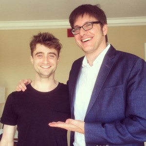 Daniel Radcliffe on 'The makan malam Party Download' (Fb.com/DanielJacobRadcliffeFanClub)