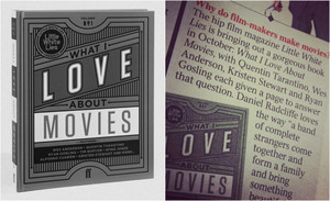 Daniel Radcliffe Featured in a Book'What i Love About films (Fb.com/DanielJacobRadcliffeFanClub)