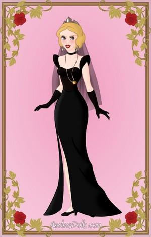 Dark কুইন Eva Braun দ্বারা Heroine Maker fro Azaleadolls.com
