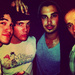 Darren Criss, Joe Walker, Joey Richter and Joe Moses
