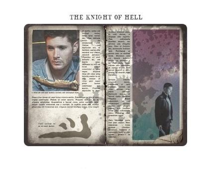 Dean | The Knight of Hell - Supernatural Fan Art (37521040 ...