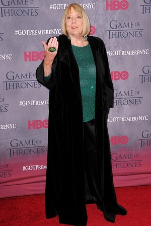 Diana Rigg - March 18, 2014