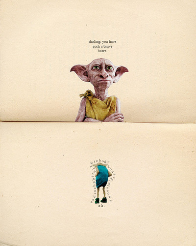 Harry Potter wallpaper possibly containing a sign entitled Dobby