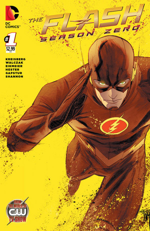 EXCLUSIVE: First Look at Flash: Season Zero Variant Cover