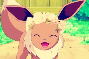 Eevee flor Crown