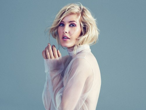 Ellie Goulding Wallpaper Containing A Portrait Called