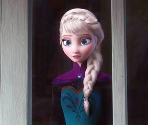 La Reine des Neiges fond d'écran containing a cocktail dress and a bustier called Elsa Braid