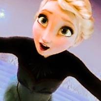 Elsa During 'Let It Go', edited.