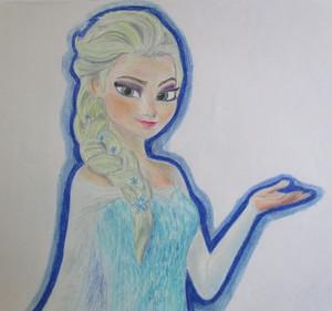Elsa the Snow クイーン
